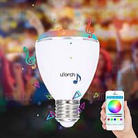 Utorch BL08A умная лампа bluetooth цветная динамик rgb колонка, фото 1