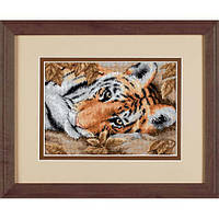 Набор для вышивки крестом Dimensions 65056 «Привораживающий тигр»