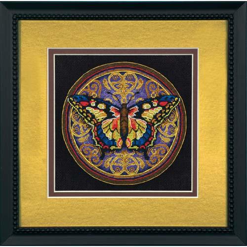 Набор для вышивки крестом Dimensions 65095 «Изысканная бабочка»