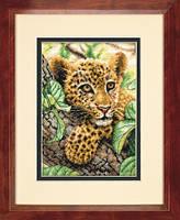 Набор для вышивки крестом Dimensions 70-65118 «Детёныш леопарда»