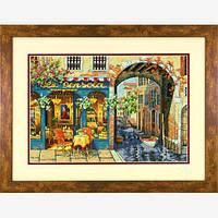 Набор для вышивки крестом Dimensions 70-35306 «Уютное кафе»