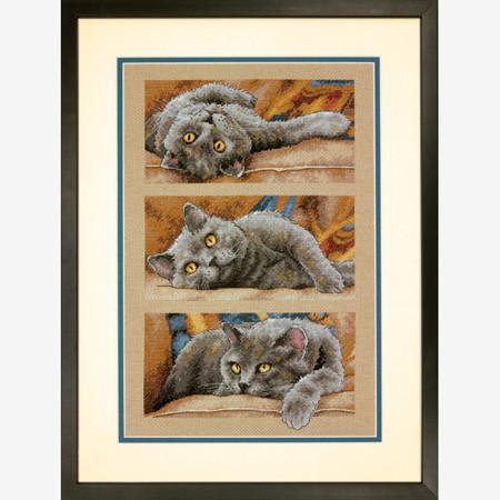 Набор для вышивки крестом Dimensions 70-35301 «Кот Макс»