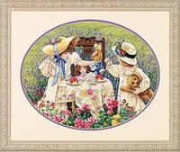 Набор для вышивки крестом Dimensions 35152 «Полуденный чай»