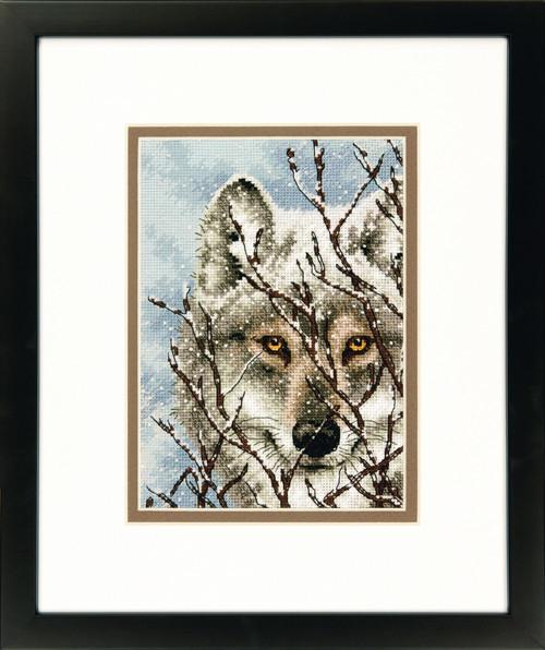 Набор для вышивки крестом Dimensions 70-65131 «Волк»