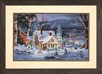 Набор для вышивки крестом Dimensions 70-08862 «Зимняя тишина»