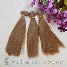 Волосы для кукол 100х15 см, цвет №6
