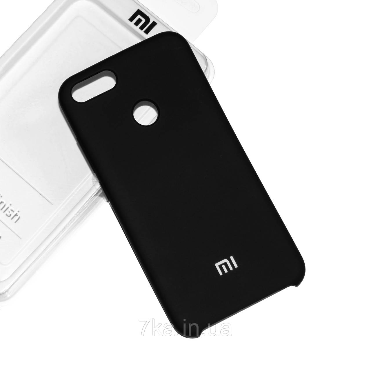Силиконовый чехол на Xiaomi Mi 5X/ Mi A1 Soft-touch Black