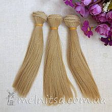 Волосы для кукол 100х15 см, цвет №8