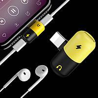 2 в 1 Адаптер для iPhone X / 8/7. Audio & Charge Adapter