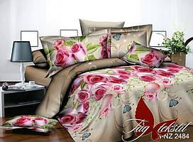 Двуспальный комплект постельного белья с 3D эффектом PS-NZ 2484