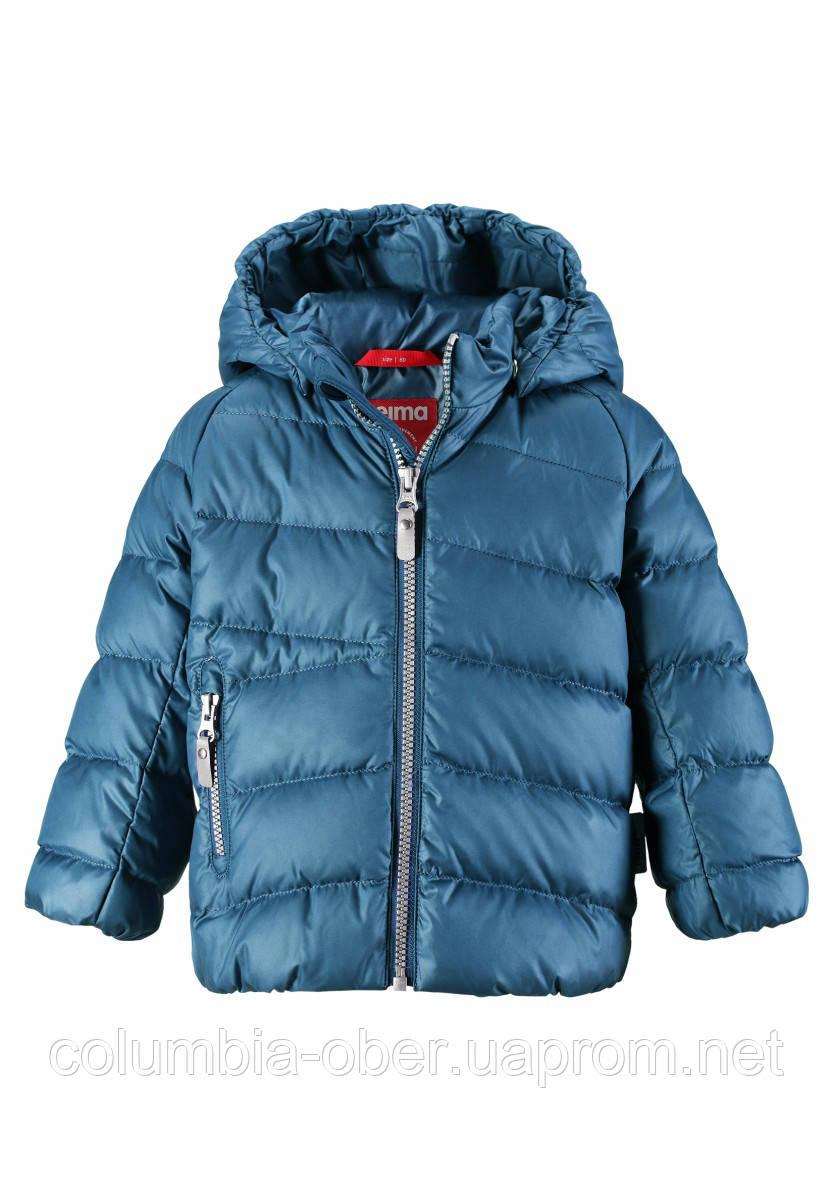 Зимний пуховик для мальчика Reima 511271-6790. Размеры 80-110.