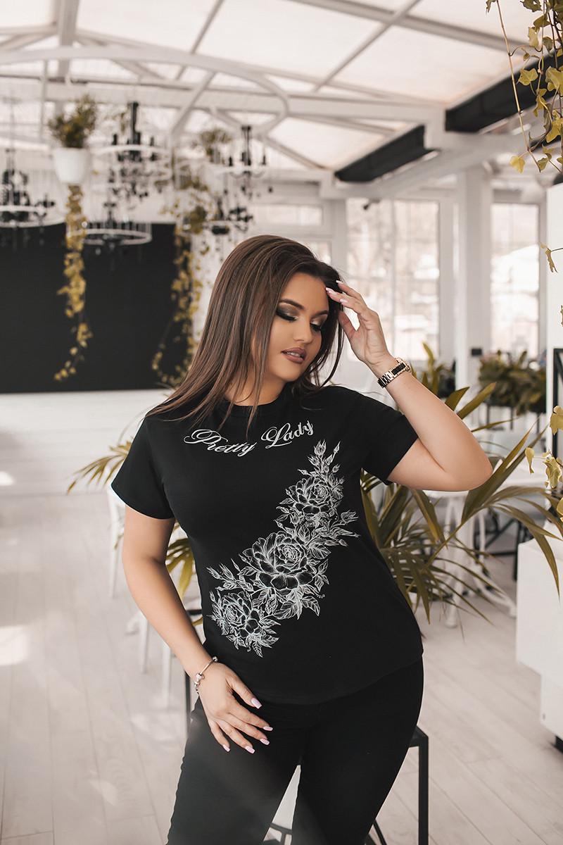 Женская футболка 03757