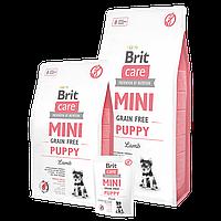 Сухой корм Brit Care GF Mini Puppy Lamb для щенков малых пород, 2 кг