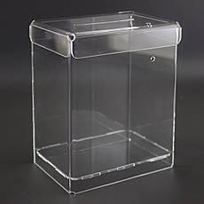 Ящики для сбора денег и анкет