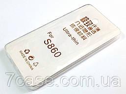 Чехол для Lenovo S860 силиконовый ультратонкий прозрачный