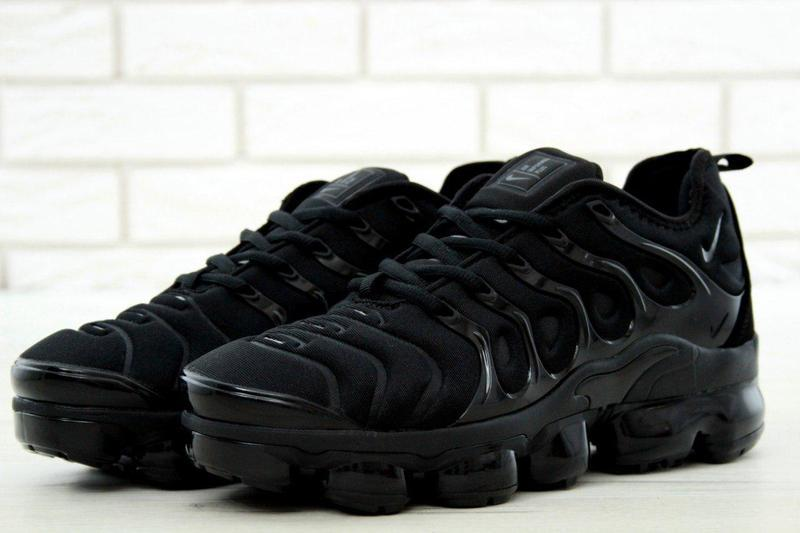 detailing ed9b4 1782c Мужские кроссовки Nike Air Vapormax FLYKNIT Plus Black