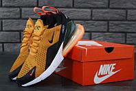 Мужские кроссовки Nike Air Max 270 SUPREME Yellow, фото 1