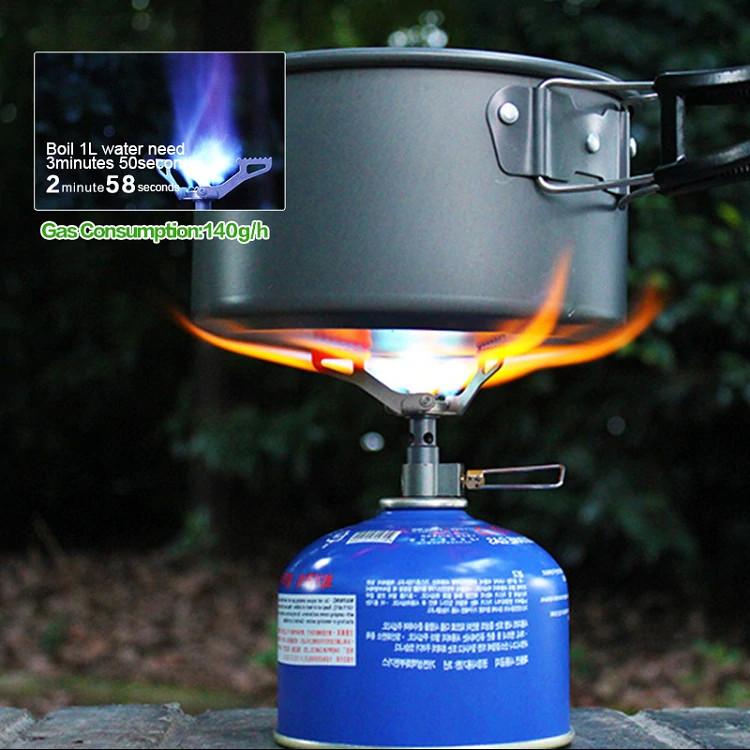 Титановая газовая горелка BRS-3000T 25гр