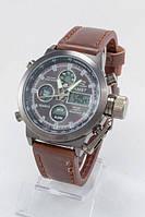Мужские армейские наручные часы AMST с чёрным циферблатом Высокое качество Современный дизайн Код: КДН3619