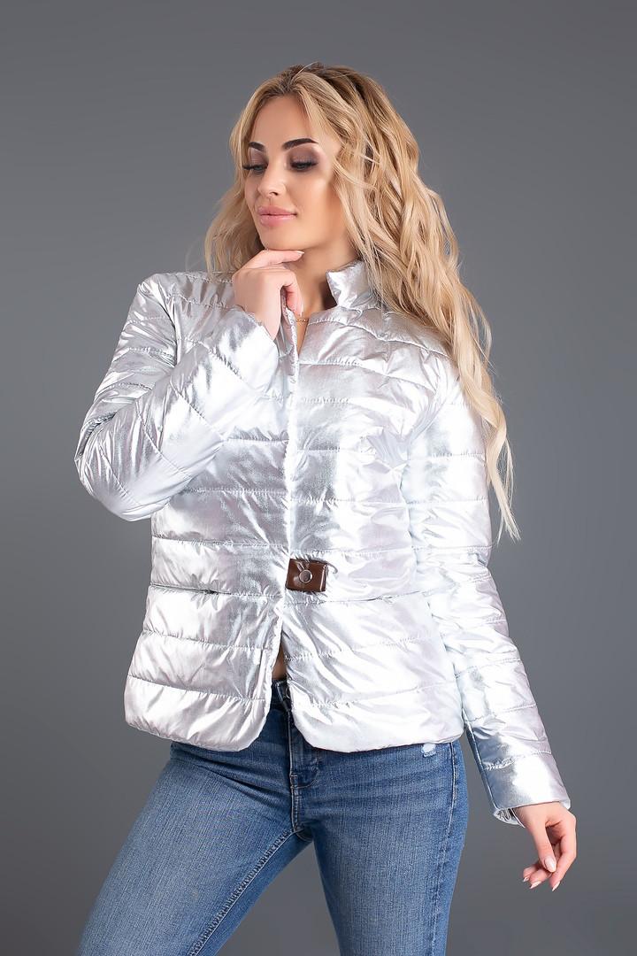Куртка демисезнная воротник стойка