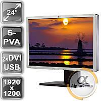 """Монитор 24"""" HP LP2465 (S-PVA/16:10/DVI/USB) class B БУ"""