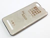 Чехол для Lenovo Vibe C A2020 / a2020a40 силиконовый ультратонкий прозрачный серый