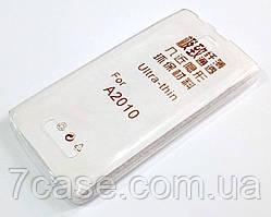 Чехол для Lenovo A2010 силиконовый ультратонкий прозрачный