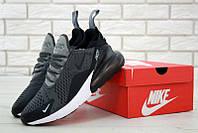 Мужские кроссовки Nike Air Max 270 Dark grey/White