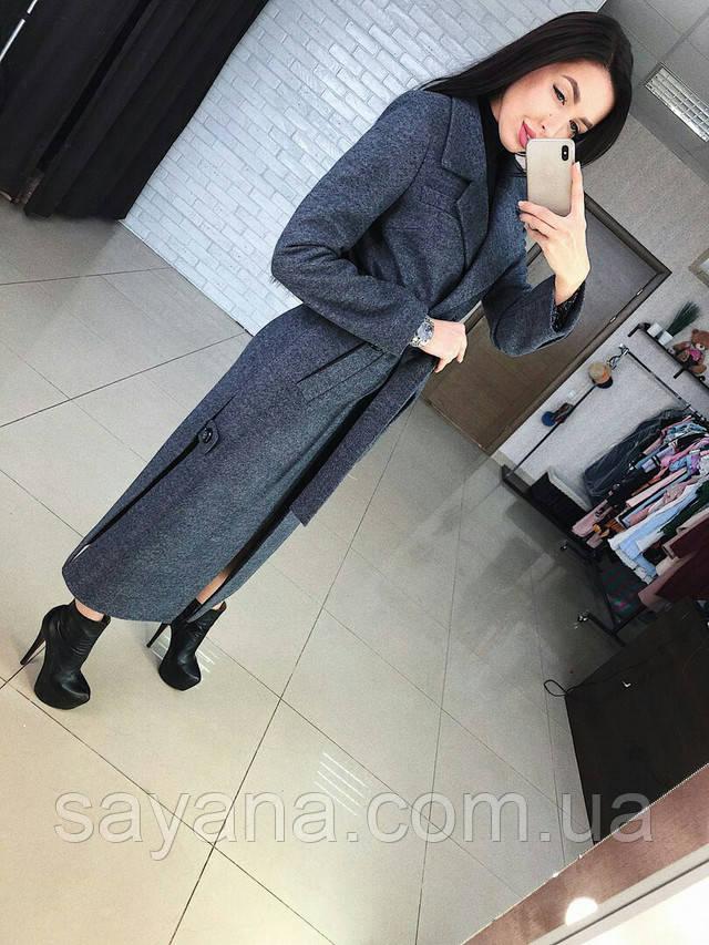 пальто женское большого размера