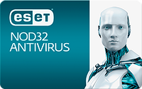 ESET NOD32 Antivirus 3 ПК 1 год Продление