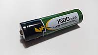 Аккумулятор Rablex 18650 Li-Ion 1500mAh (тестовая емкость 1100 mAh) (без защиты), фото 1