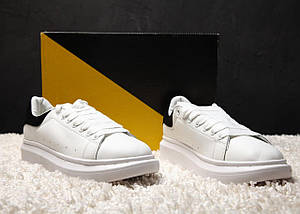 Женские и мужские кроссовки Alexander McQueen Oversized Sneakers, фото 3