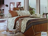 Сатиновое постельное белье полуторка ELWAY 3033