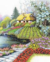 Набор для вышивки крестом Panna ПС-0668 «Уютный дворик»
