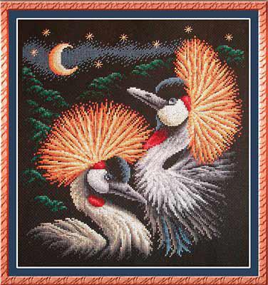 Набор для вышивки крестом Panna ПТ-0817 «Лунная серенада»