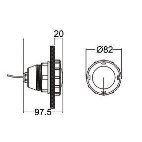 Прожектор светодиодный Emaux LED-P50 (1 Вт) White, фото 2