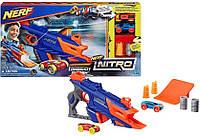 Бластер Нёрф стреляющий машинками, Nerf Nitro Longshot Smash, Hasbro, Оригинал из США, фото 1