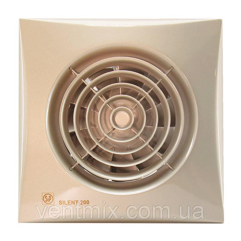 Вытяжной вентилятор Silent 200 CZ Ivory