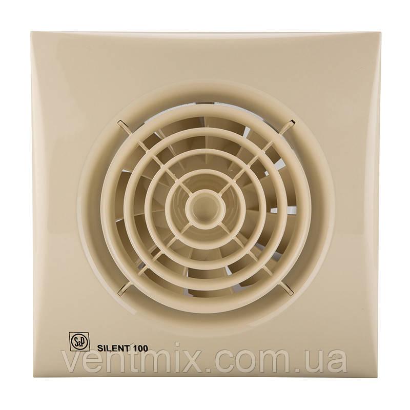 Вытяжной вентилятор  Silent 100 CZ Ivory