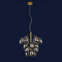 Потолочные люстры светильник в стиле лофт Levistella 756LPR0245-15 GD+BK