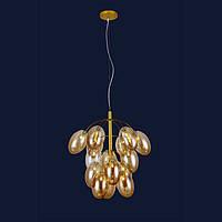 Потолочные люстры светильник в стиле лофт Levistella 756LPR0245-15 GD+BR