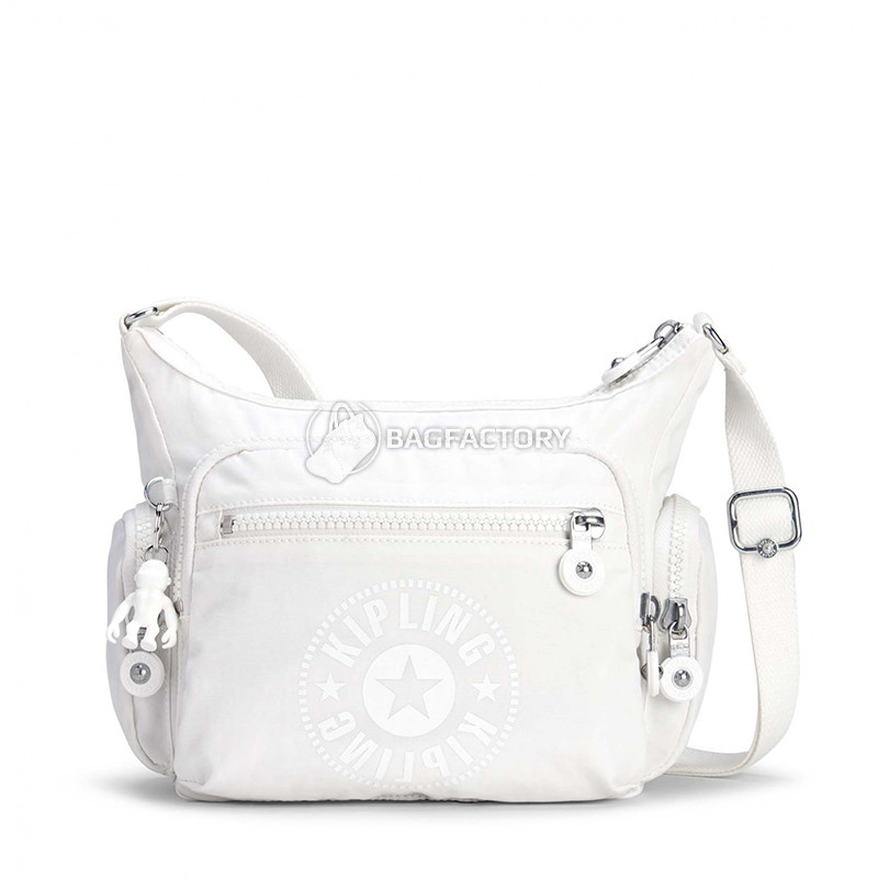 bac636868094 Женская наплечная сумка Kipling GABBIE S Lively White 7л (KI2632_50Z) -  Интернет-магазин