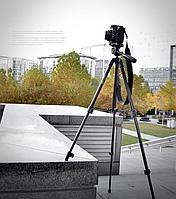 Штатив для фотоаппарата FY506 высота 125 см. Трипод