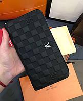 66e544fe9544 Органайзер кошелек клатч портмоне бумажник черный мужской женский Louis  Vuitton премиум реплика