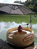 Лодка гриль, лодка барбекю,