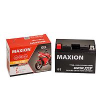Мото аккумулятор GEL MAXION YT 9B-4 (12V, 9A)