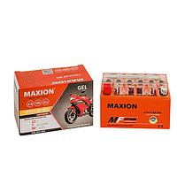 Мото аккумулятор GEL MAXION YTX 7A-BS (12V, 7A)