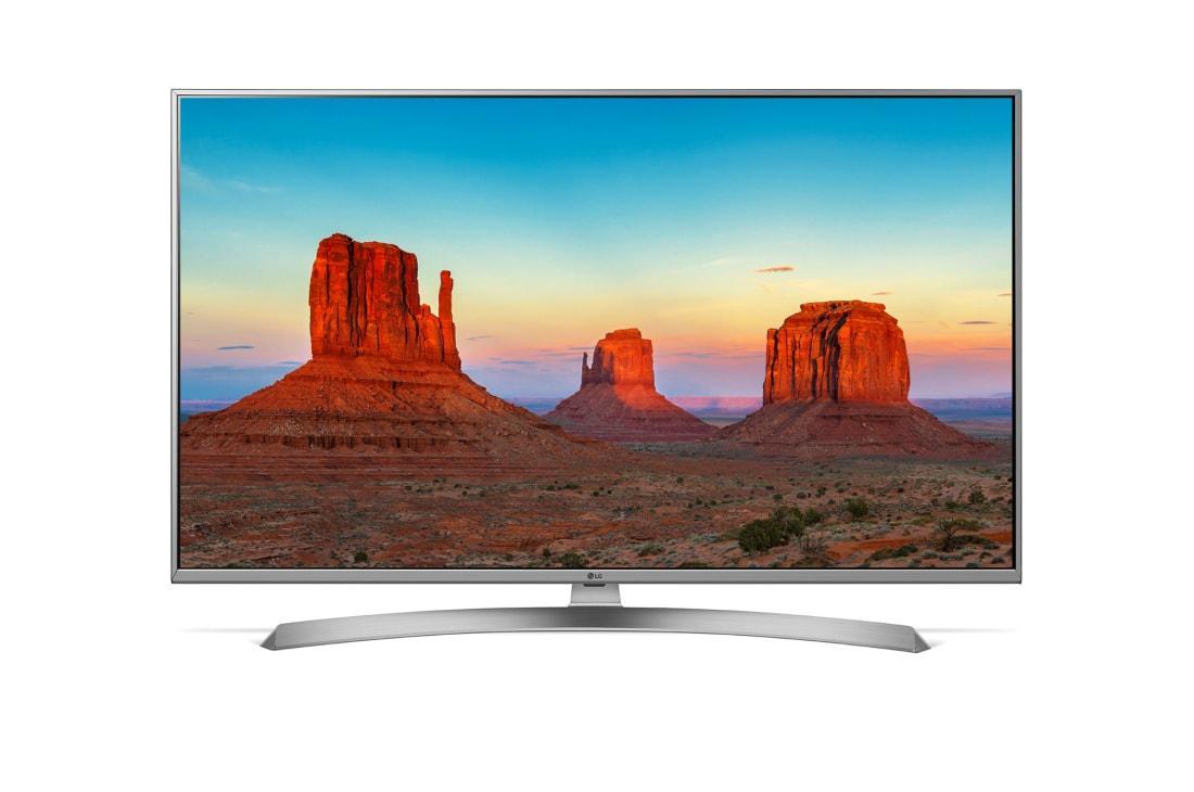 Телевизор LG 49UK7550 (TM 100Гц, 4K, Smart TV, IPS Panel, Quad Core, HDR 10 PRO, HLG, Ultra Surround 2.0 20Вт)