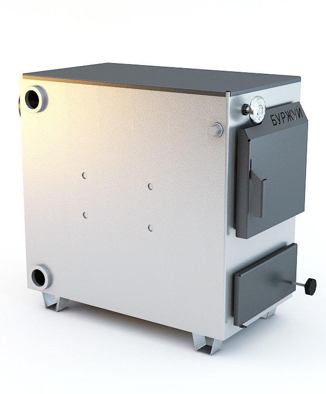 Буржуй К-20 кВт - котел твердотопливный для помещений до 200 м.кв.