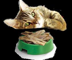 Мясные и витаминизированные лакомства для котов и кошек